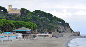 Glimpse of celle ligure Stock Photography