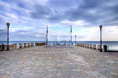 Glimpse of celle ligure Royalty Free Stock Image