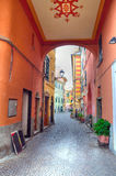 Glimpse of celle ligure Stock Image