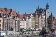 Glimpse city gdansk poland europe Stock Photography