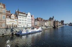 Glimpse city gdansk poland europe Stock Images