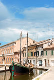 Glimpse of Comacchio Stock Photo