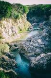 Glimpse of the Fiora River at Vulci Stock Image