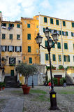Glimpse of the historical center of Sanremo Stock Images