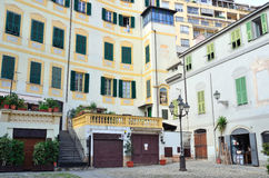 Glimpse of the historical center of Sanremo Royalty Free Stock Photos