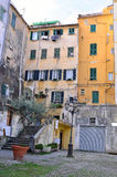 Glimpse of the historical center of Sanremo Royalty Free Stock Photography