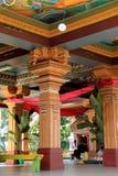 A glimpse inside the temple,where visitors are not allowed,Sri Siva Subramaniya temple,Nadi,Fiji,2015 Royalty Free Stock Photo