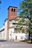 Glimpse in Lucca Stock Photo
