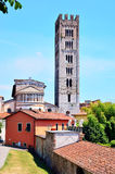 Glimpse in Lucca Royalty Free Stock Image