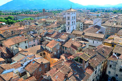 Glimpse in Lucca Royalty Free Stock Photo