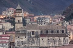 Free Glimpse Of The City Of Campagna In The Province Of Salerno Stock Photography - 113749342