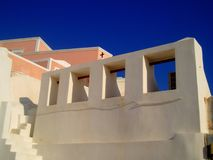 Glimpse of Oia Royalty Free Stock Photo