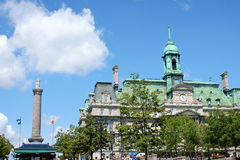 Glimpse of Old Montreal, Canada Stock Photos