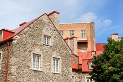 Glimpse of old Quebec City, Canada Stock Photography