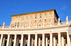 Glimpse of Piazza San Pietro Royalty Free Stock Images