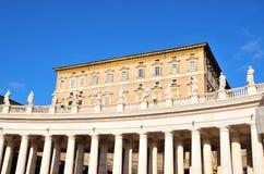 Glimpse of Piazza San Pietro Stock Photography