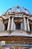 Glimpse of Piazza San Pietro Royalty Free Stock Photos
