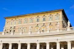 Glimpse of Piazza San Pietro Stock Images