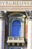 Glimpse of Piazza San Pietro Stock Photo