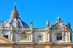 Glimpse of Piazza San Pietro Stock Photography