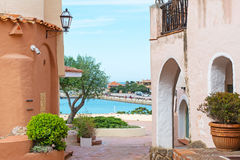 Glimpse of Porto Cervo Royalty Free Stock Images