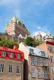 Glimpse of Quebec City Stock Photos