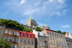 Glimpse of Quebec City Royalty Free Stock Photos