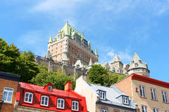 Glimpse of Quebec City Stock Photography