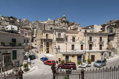 Glimpse of ragusa sicily italy europe Royalty Free Stock Photography