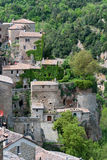 Glimpse in Scansano. View of the village of Scansano in Tuscany Royalty Free Stock Image