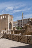 Glimpse to Lecce Royalty Free Stock Photography