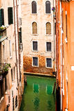 Glimpse Of Venice Stock Photo