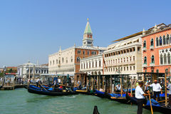 Glimpse of Venice in summer Stock Images