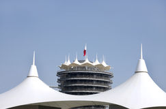 Glimpse of VIP tower in BIC Stock Photo