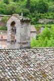 Glimpse of Visso, beautiful village in the Province of Macerata Stock Image