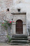 Glimpse of Visso, beautiful village in the Province of Macerata Royalty Free Stock Image