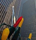 Glimtljus i Mitt--staden, Manhattan Royaltyfri Fotografi