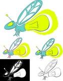 Glimworm Stock Afbeeldingen
