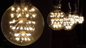 glimwormlampen Stock Foto's