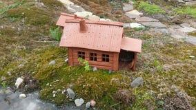 Glina dom Zdjęcie Stock