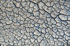 glina pękający ziemski stepowy lato Obraz Stock