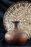 Gliniana waza zdjęcie stock