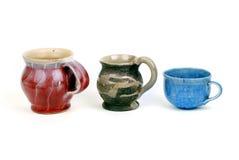Gliniane ceramiczne ceramika Fotografia Stock