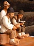 gliniane figurki Fotografia Royalty Free