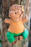Gliniane lale uprawiają ogródek żadny 3 zdjęcia stock