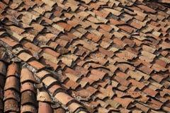 gliniane stare płytki Zdjęcie Stock