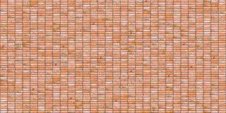 Glinianego ściana z cegieł bezszwowa tekstura fotografia royalty free