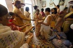 gliniani durga festiwalu idolów ind s zdjęcia stock
