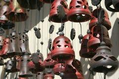 Gliniani dzwony Fotografia Royalty Free