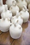 Gliniani garnki, ceramiczni zbiorniki Obrazy Stock